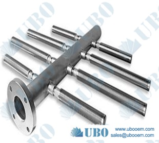 Stainless Steel Wedge Wire Hub Lateral Systems for Drainage