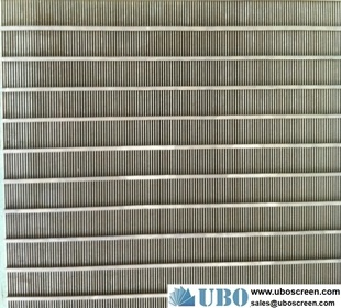 industrial flat panel wedge wire screens