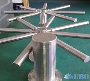 Wedge Wire Hub Lateral for Condensate Polishing of Industrial Water