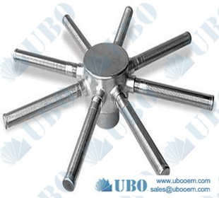 Stainless Steel Hub and Header Lateral for Water Softening of Drinking Water