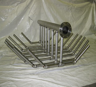 Wedge wire screen laterals