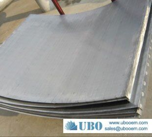 fine wire sieve bend screen