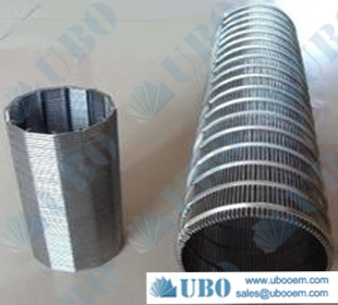 All welding type v wire water filter water treating equipment