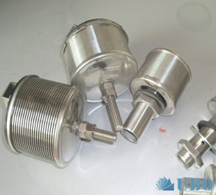 filter nozzles purified wanter treatment