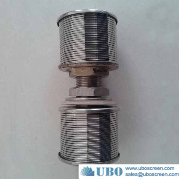Double-headed pipe strainer filter