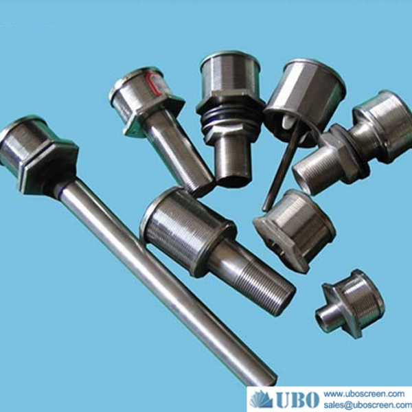 Softening water treatment equipment nozzle filter