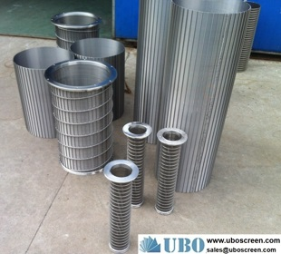 SS304L Johnson screen casing pipe for oil well
