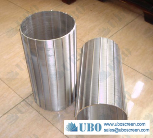 Reinforced wedge wire cylinders