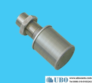 SS316 Profile Bar Screen Nozzle Filter for Water Processing