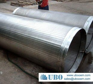 stainless steel johnson screen pipe