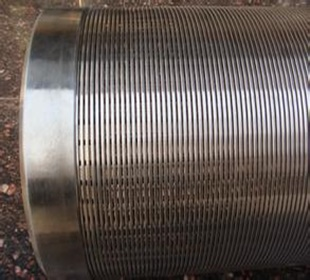 SS rod based wire wrap well screen factory