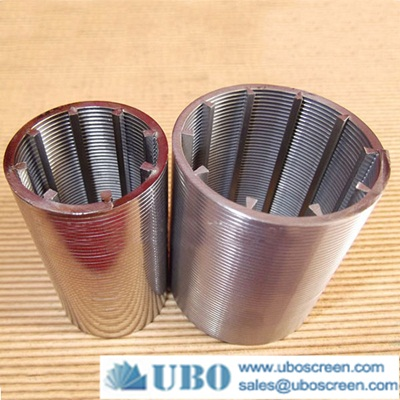 wedge wire cylinders for Food Processing Plant