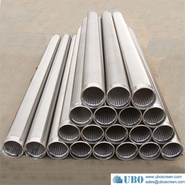 stainless steel construction with wedgec wire cylinders