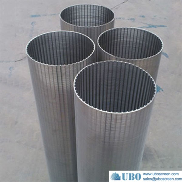 All kinds of stainless steel wedge wire pipe