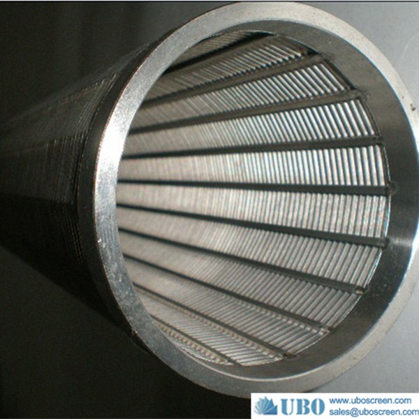 High quality wedge wire water well screen filter