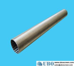 stainless steel Johnson wedge wire screen pipe