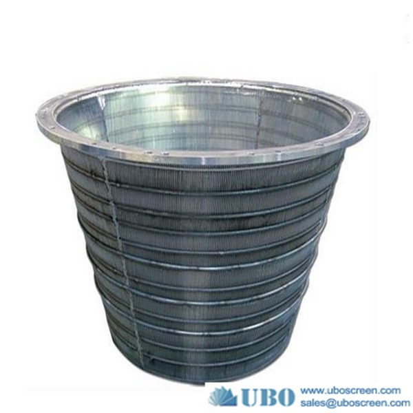 High quality wedge wire screen basket