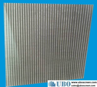 316 Wedge Wire Screen Panel