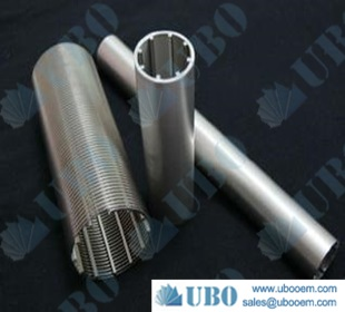 stainless steel water well screen casing pipe