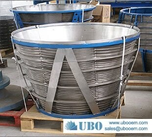 Hot sale stainless steel wedge wire screen basket