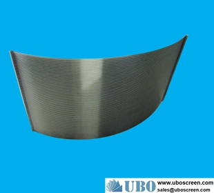 Stainless Steel Flat Panel Wedge Wire Screen