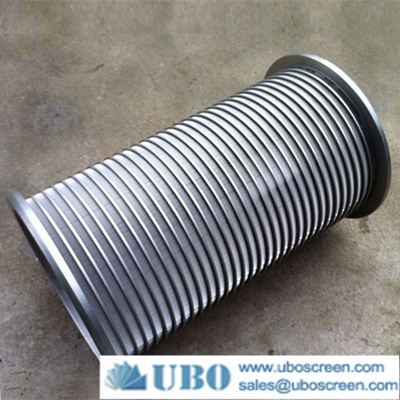 low carbon stainless steel wedge wire pipe