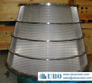 Wedge Wire Centrifuge Screen Basket