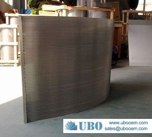 UBO stainless wedge wire screen panel