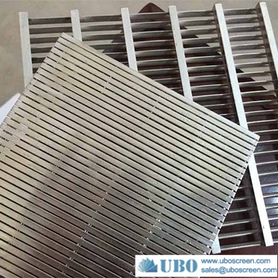 stainless steel wedge wire screen mesh for sieve filter