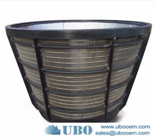 High quality Stainless Steel Wedge Wire Centrifuge Baskets