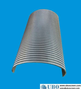 wedge wire stainless steel sieve bend screen