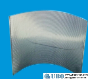 high quality wedge wire stainless steel sieve bend screen factory