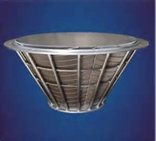 conical centrifuge screens