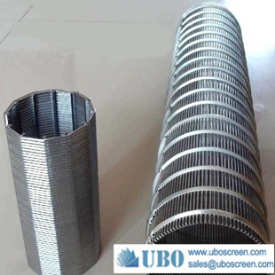 Stainless steel wedge wire screen aquaculture drum filter for water treatment