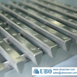 Stainless Steel Welded Slotted Wedge Wire Screen Panel