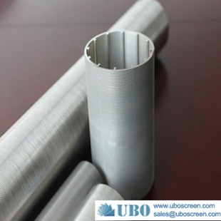 Stainless steel wedge wire screen drilling pipe filter