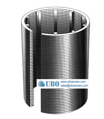 Johnson water well screen strainer pipe