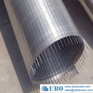 Johnson slotted wedge wire screen pipe