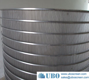 SS slot wire dewatering curve bend screen panel