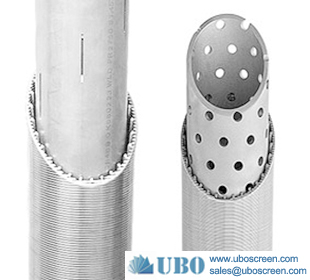 Perforated Pipe Based V Wire Screen for Sand Control
