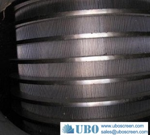 slotted wire screen cylinder rotary drum filter