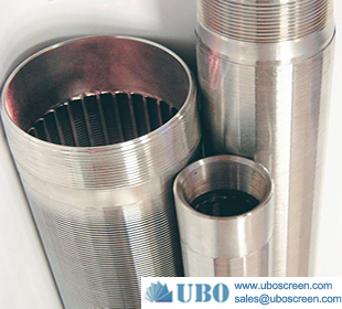 Stainless steel V wire screen tube for water treatment