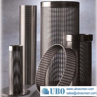 Stainless Steel Wedge Wire Drum Screen Tube