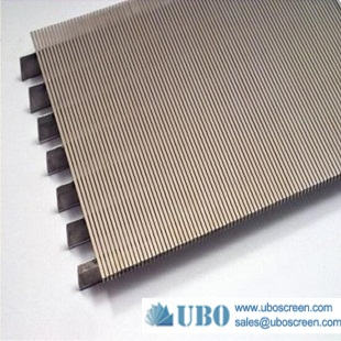 wedge type mesh screen sieve plate for edible oil