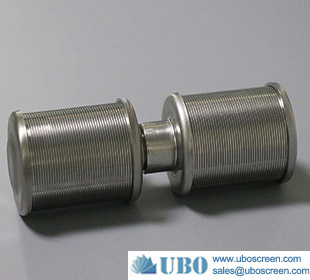 0.2mm slot water well screen nozzle filter with NPT/BSP thread