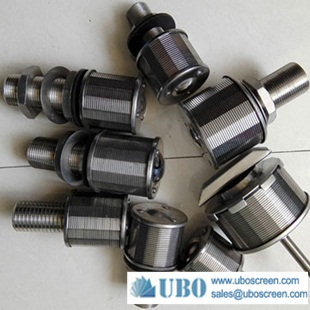Stainless Steel High Pressure Sand Filter Nozzle Strainers