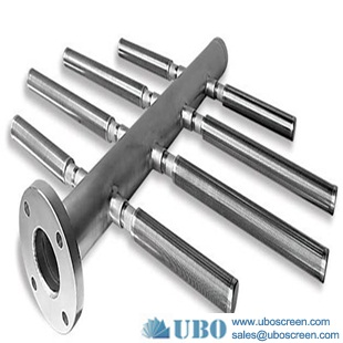 Stainless steel header lateral for Drainage System
