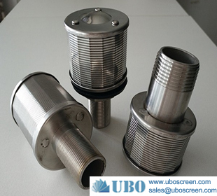 SS water well wedge wire screen filter nozzle supplier