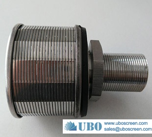 water wedge wire filters screen nozzle for irrigation system