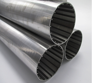 Water well drill pipes in wedge wire screen for water treatment/oil drilling